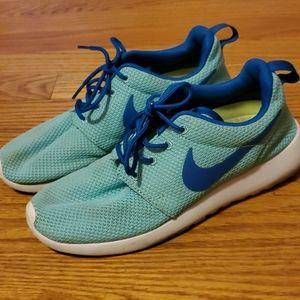 Blue Nike's